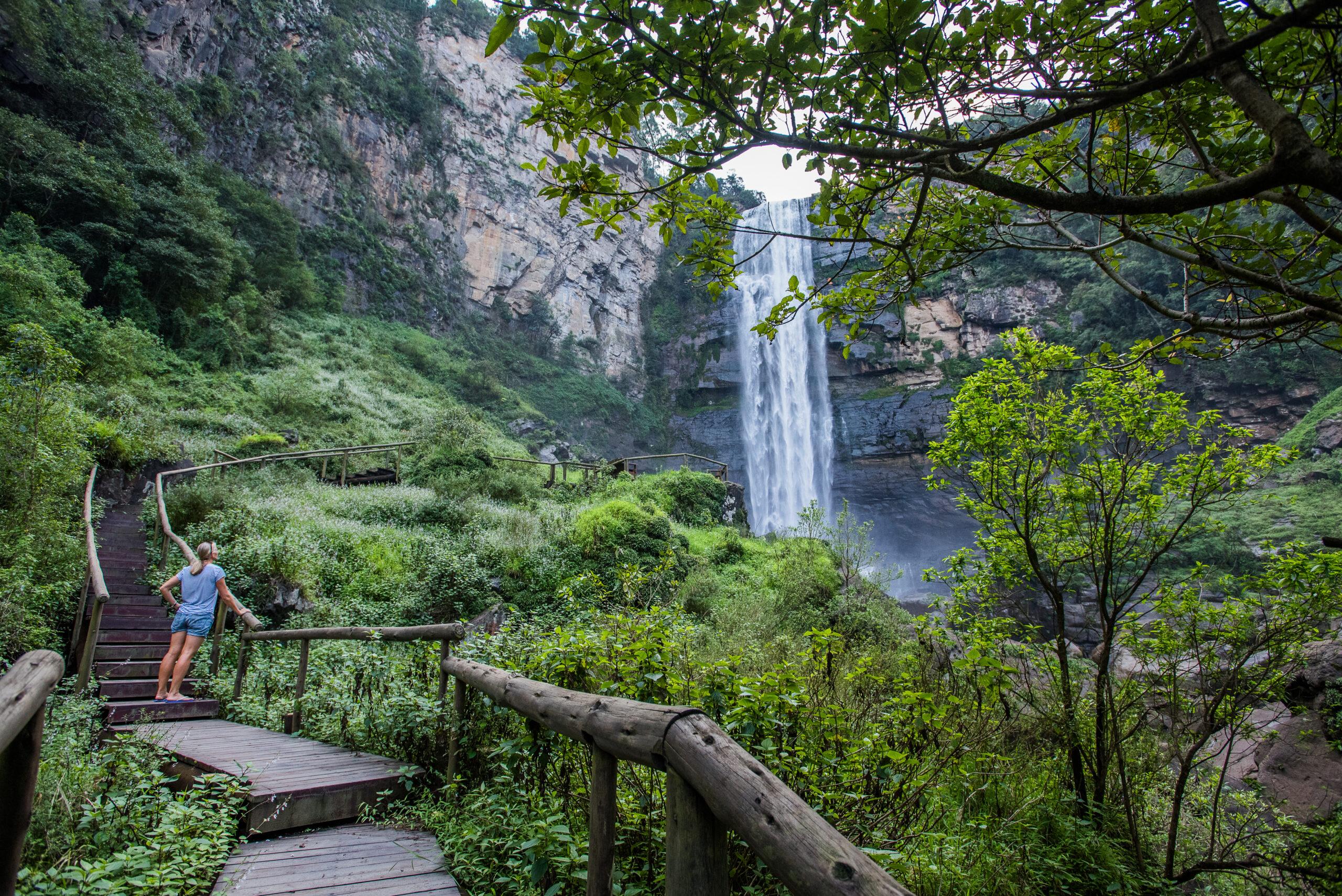 Karkloof Safari waterfall