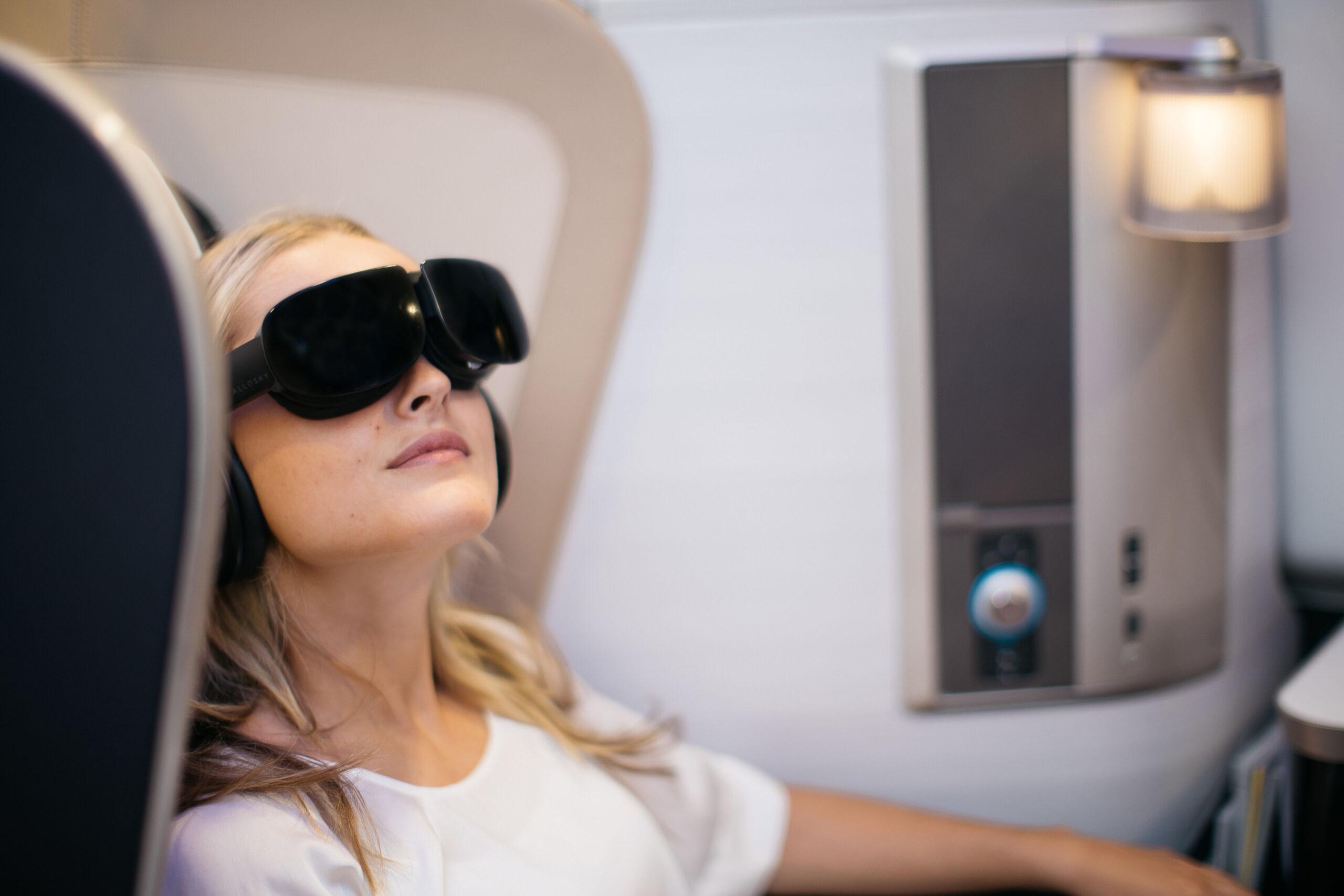 British Airways virtual reality headset