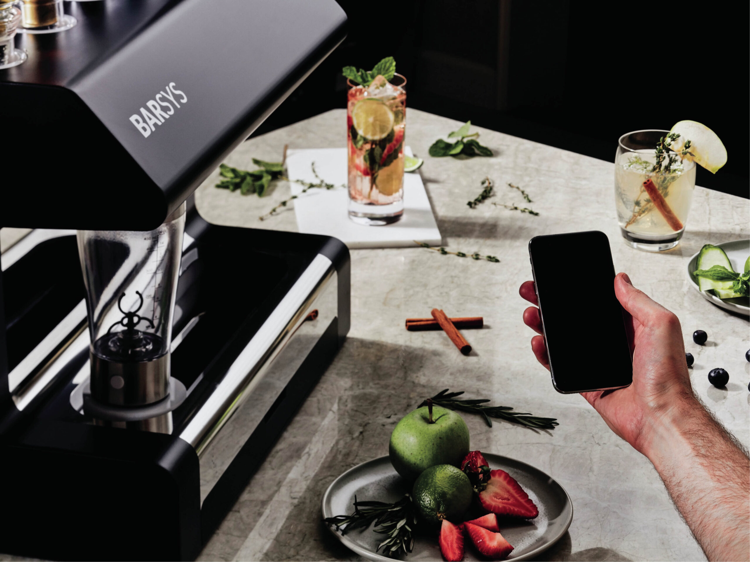 British Airways robotic cocktail maker