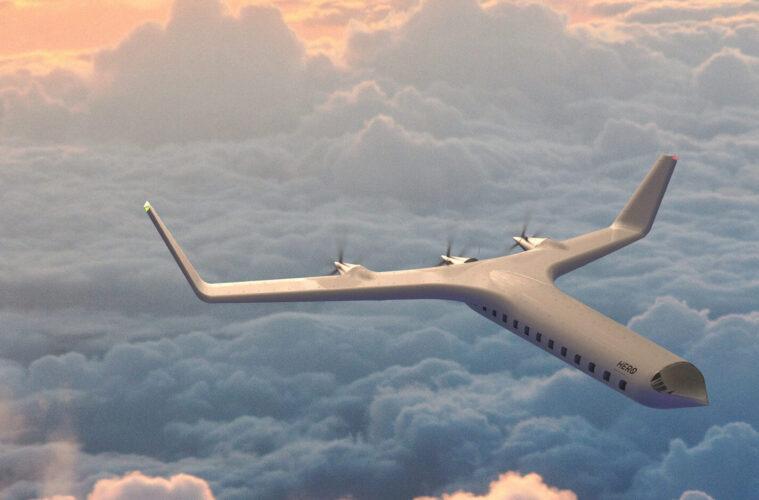 Zer0 electric plane by Joe Doucet