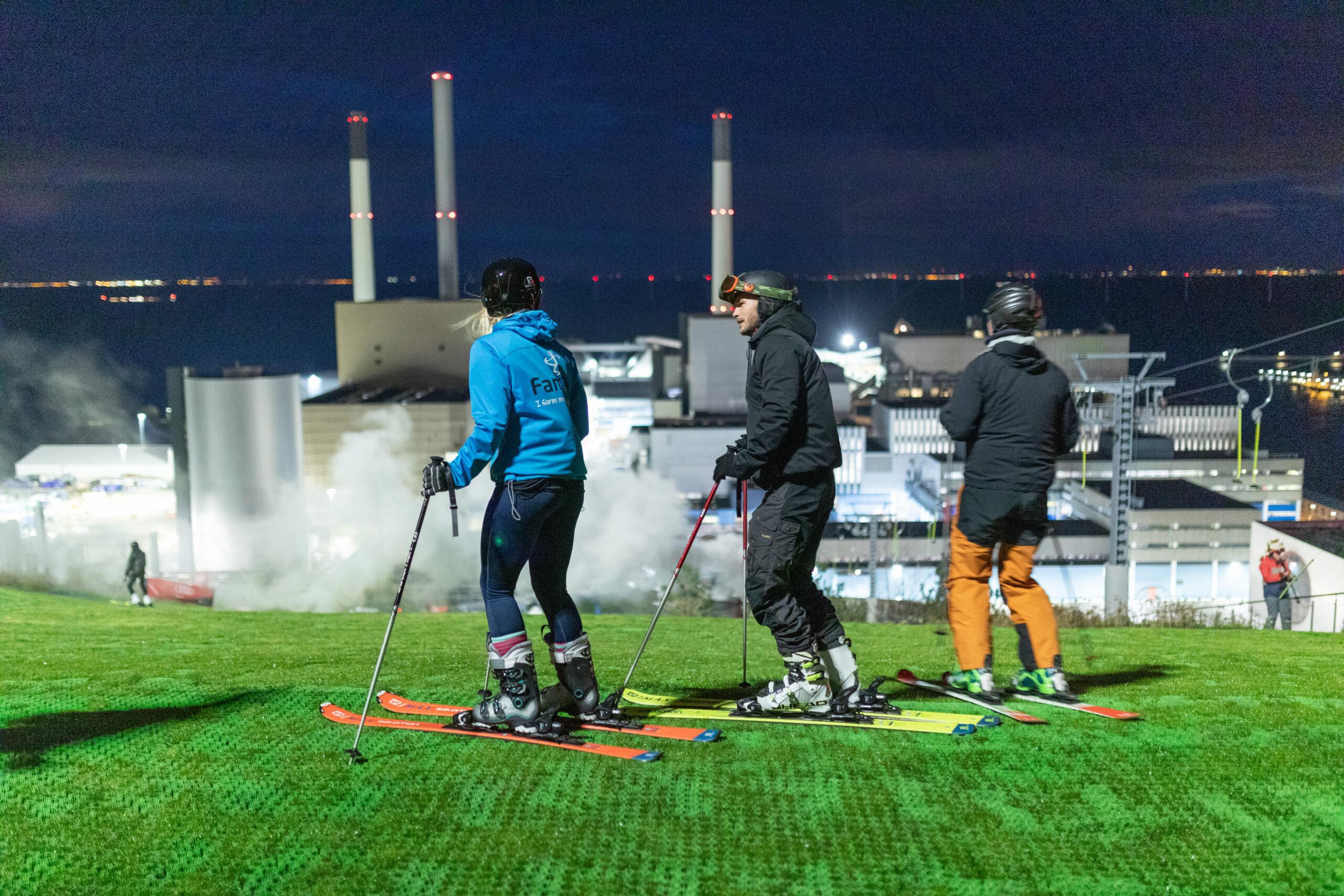 CopenHill power plant ski slope