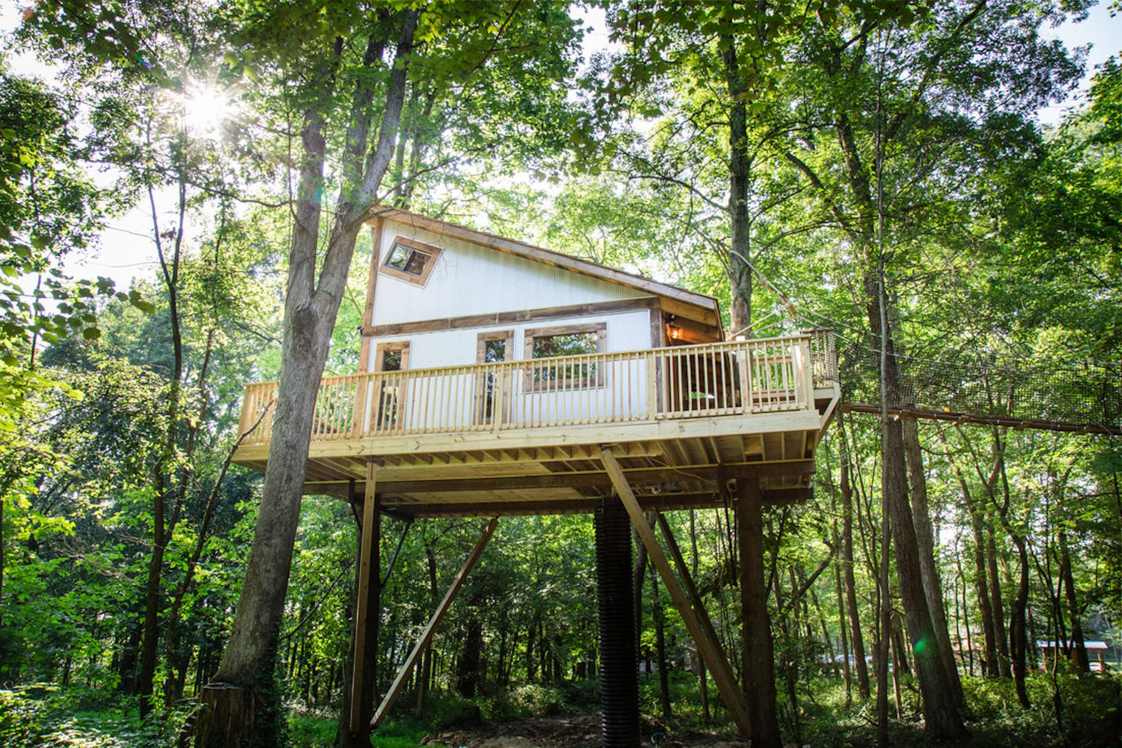 Tin Shed Treehouse Glenmont, Ohio