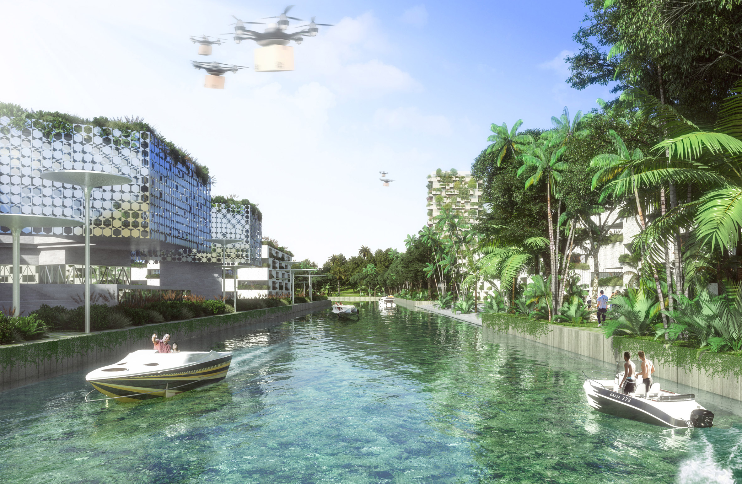 Stefano Boeri Architetti, Smart Forest City Cancun