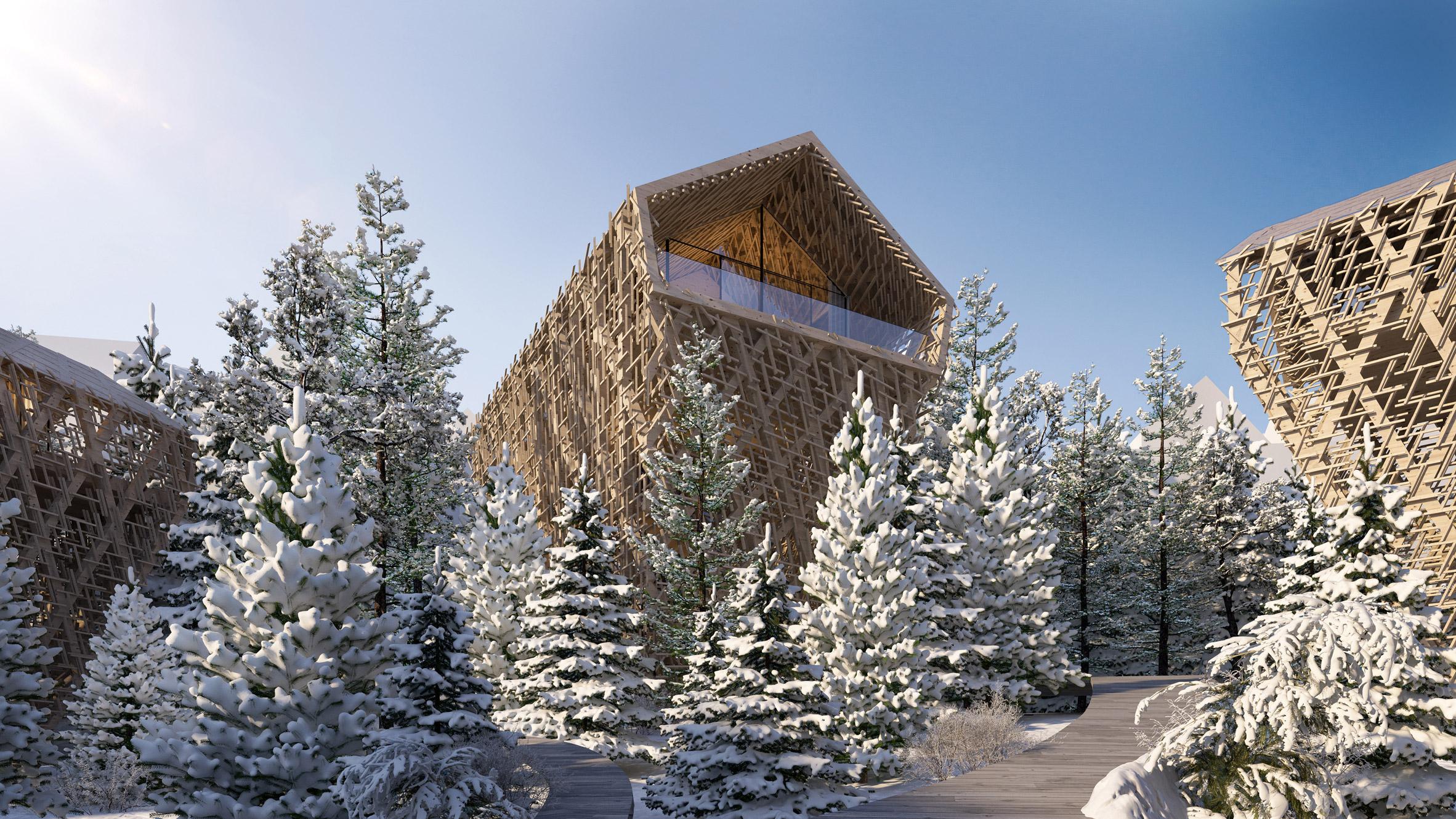 Tree Suites hotel, Austria