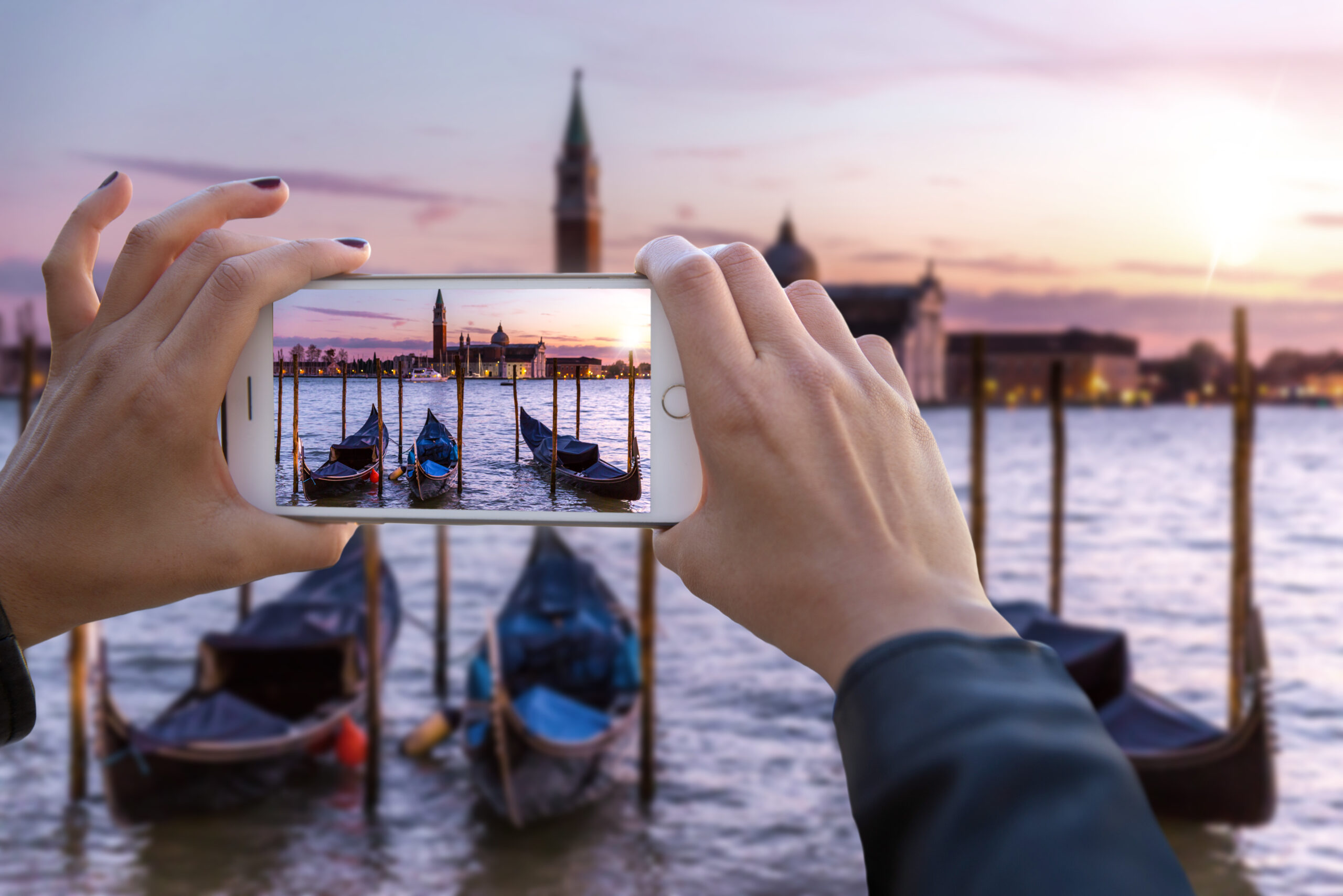 Smartphone photography Venice