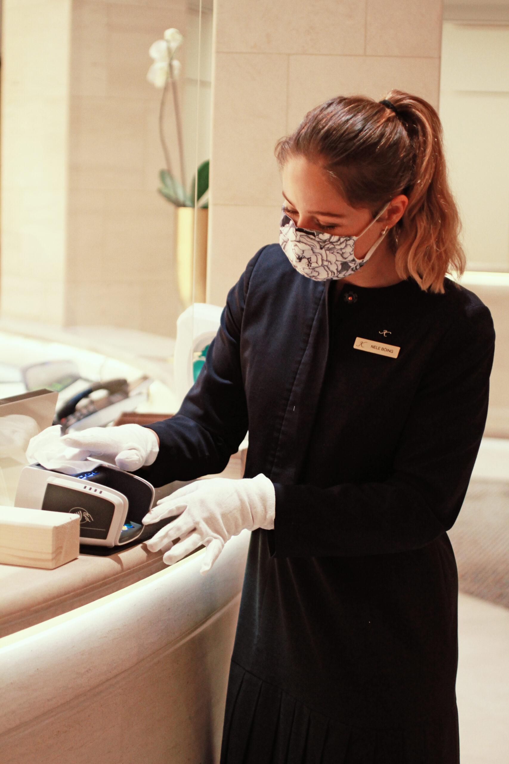 Kempinski white glove service
