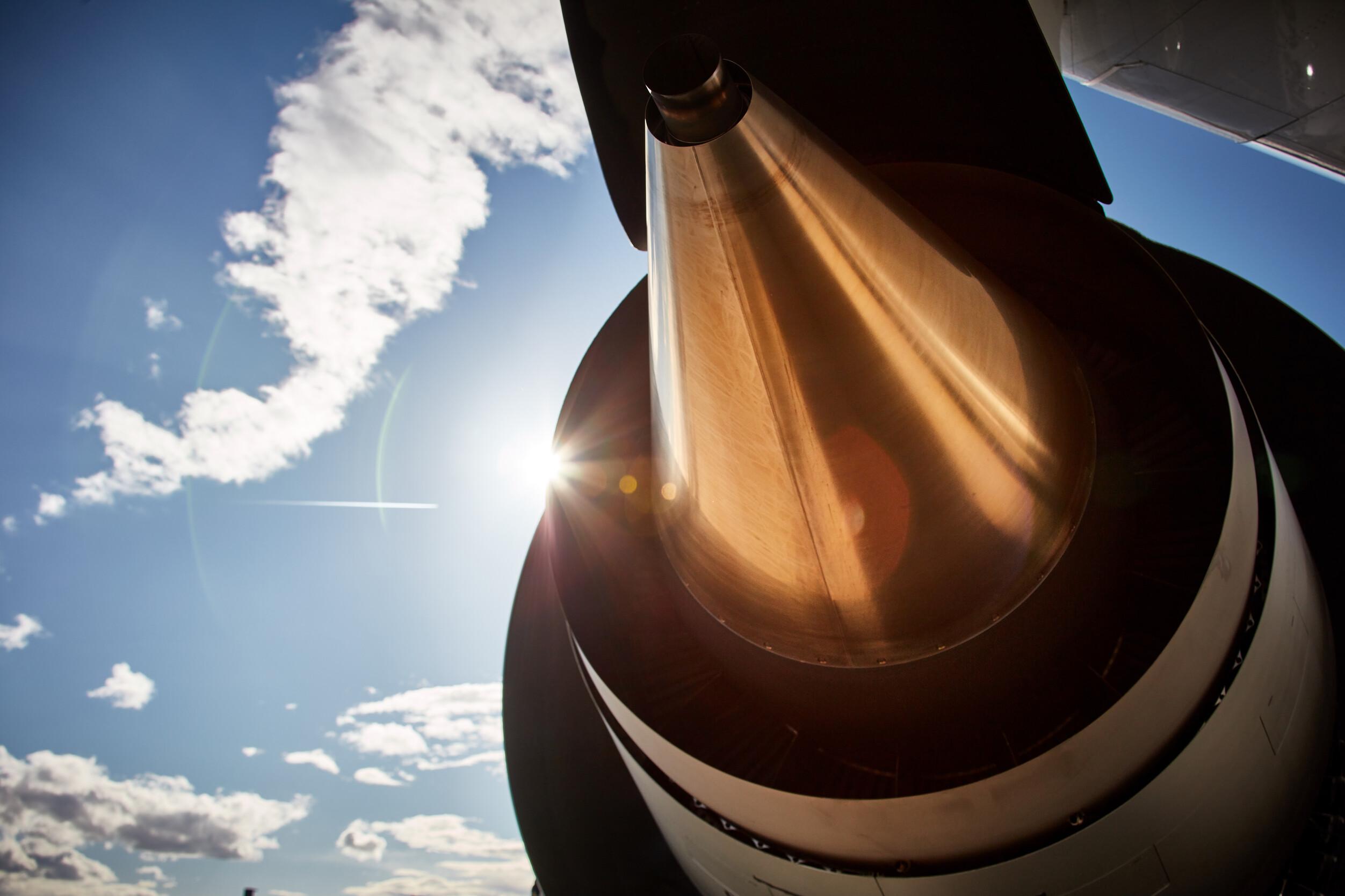 Lufthansa sunlight