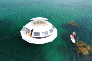 Anthenea floating eco hotel suite