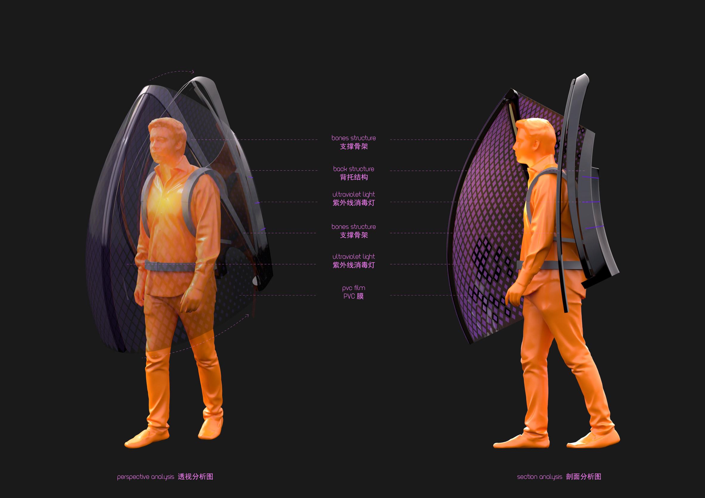 Be a Bat Man coronavirus shield