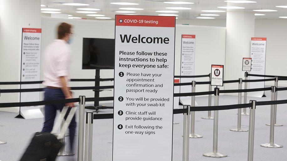 Collinson Swissport Heathrow Covid testing