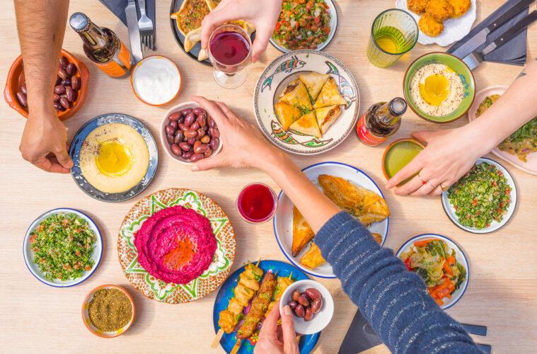 Food at Les Cuistots Migrateurs