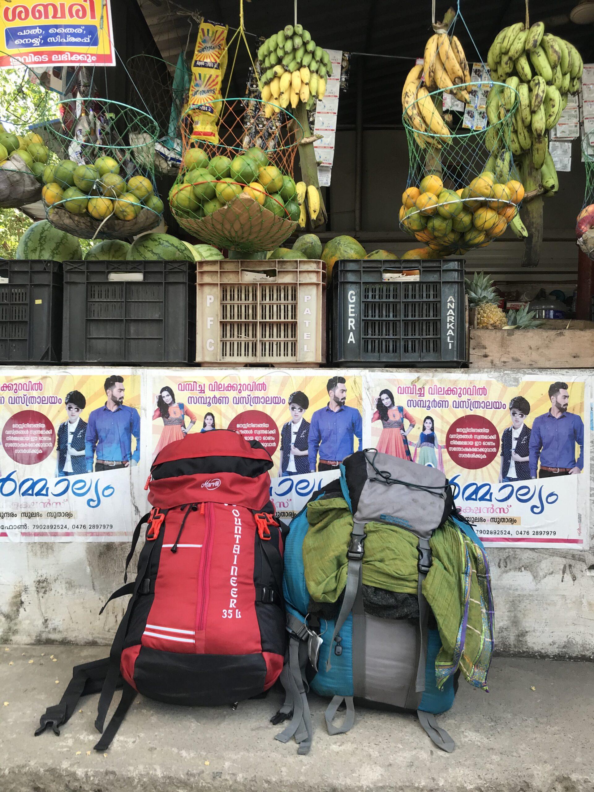India rucksacks © Erica Jamieson