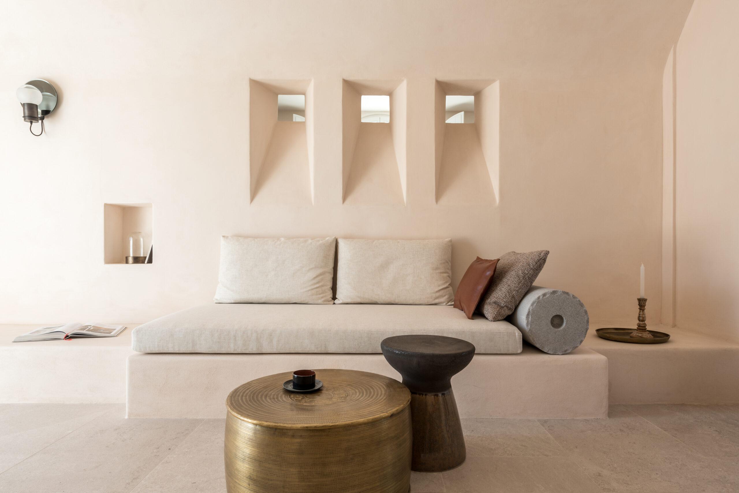 suite Istoria hotel Santorini Greece luxury villa design