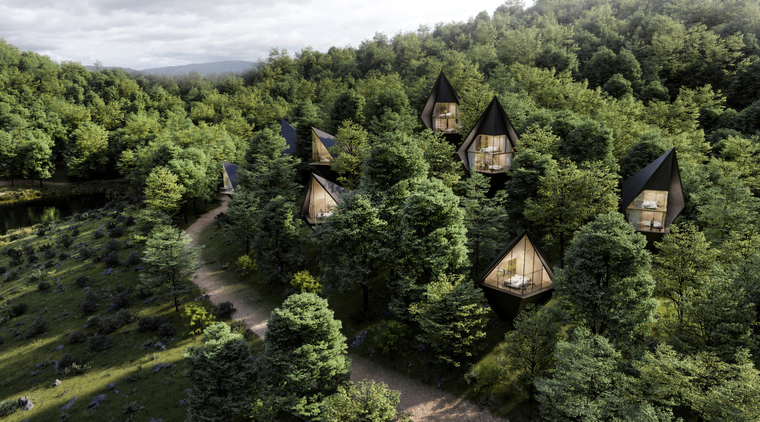 Peter Pichler Architecture Tree Houses