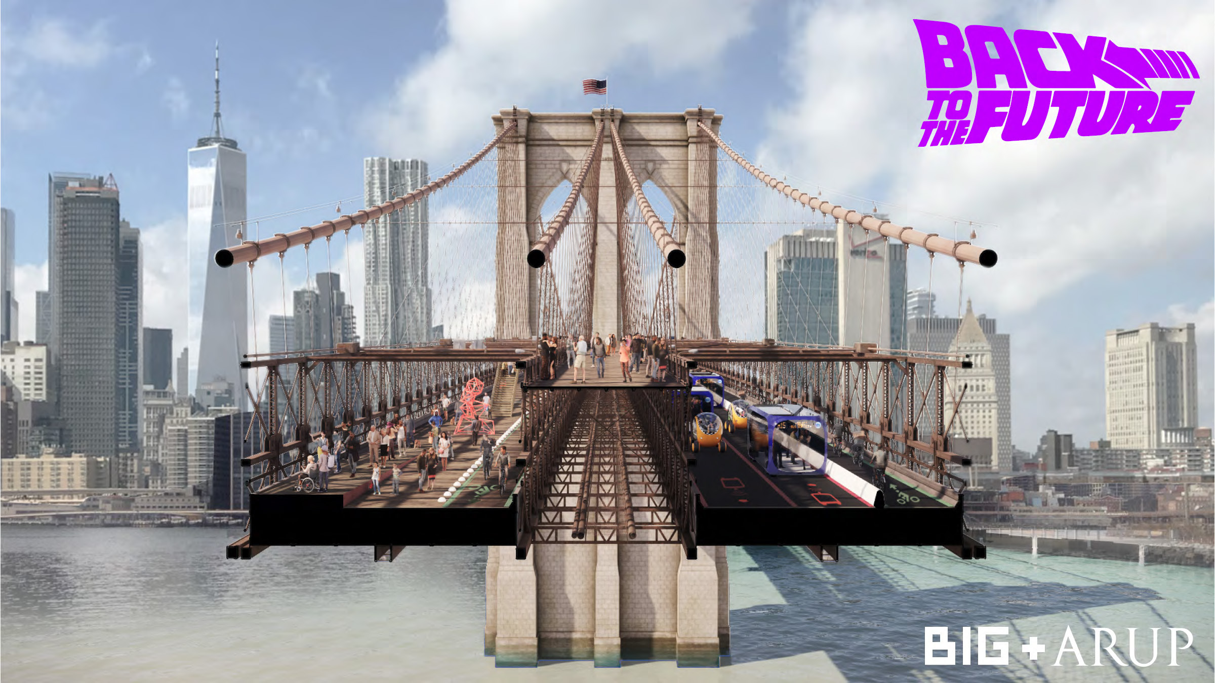 Reimagining Brooklyn Bridge: Back To The Future