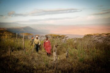 Aardvark Safaris, Walk Camp to Camp safari Tanzania