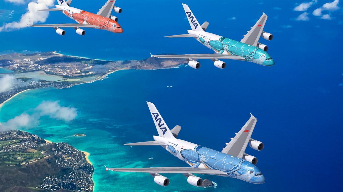 ANA A380 Hawaii