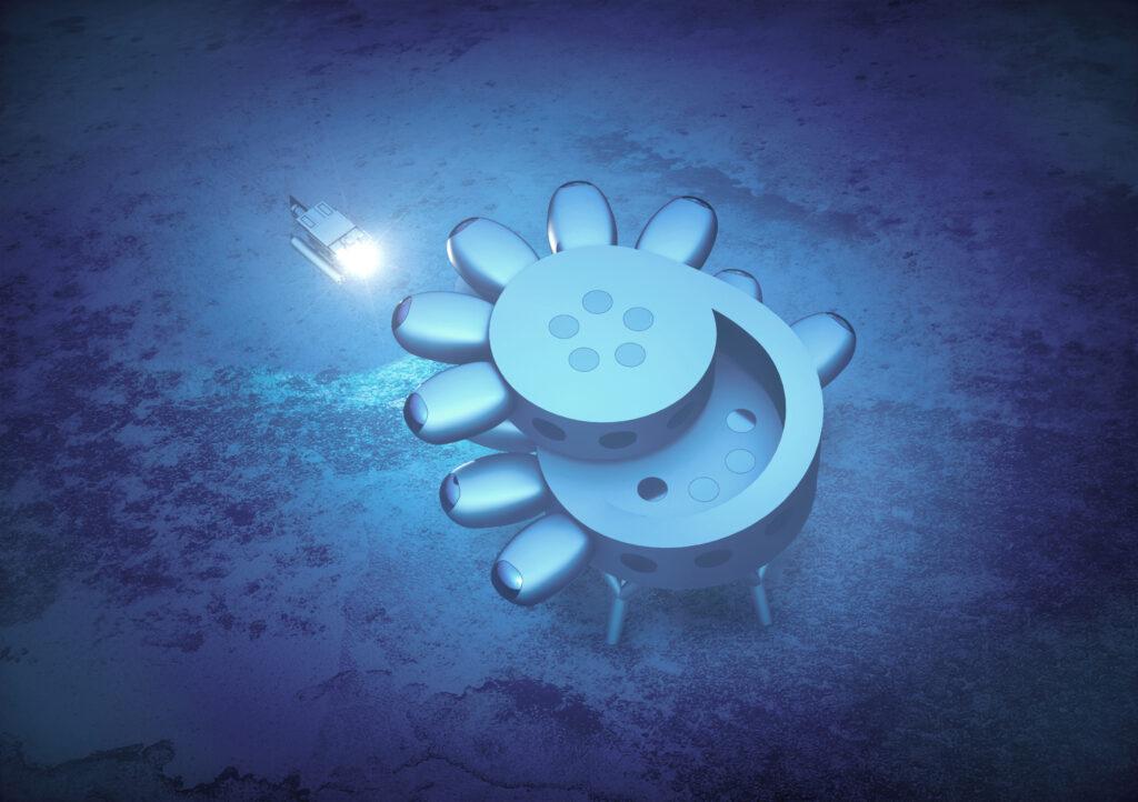 Fabien Cousteau's PROTEUS™. Concept designs by Yves Béhar and fuseproject