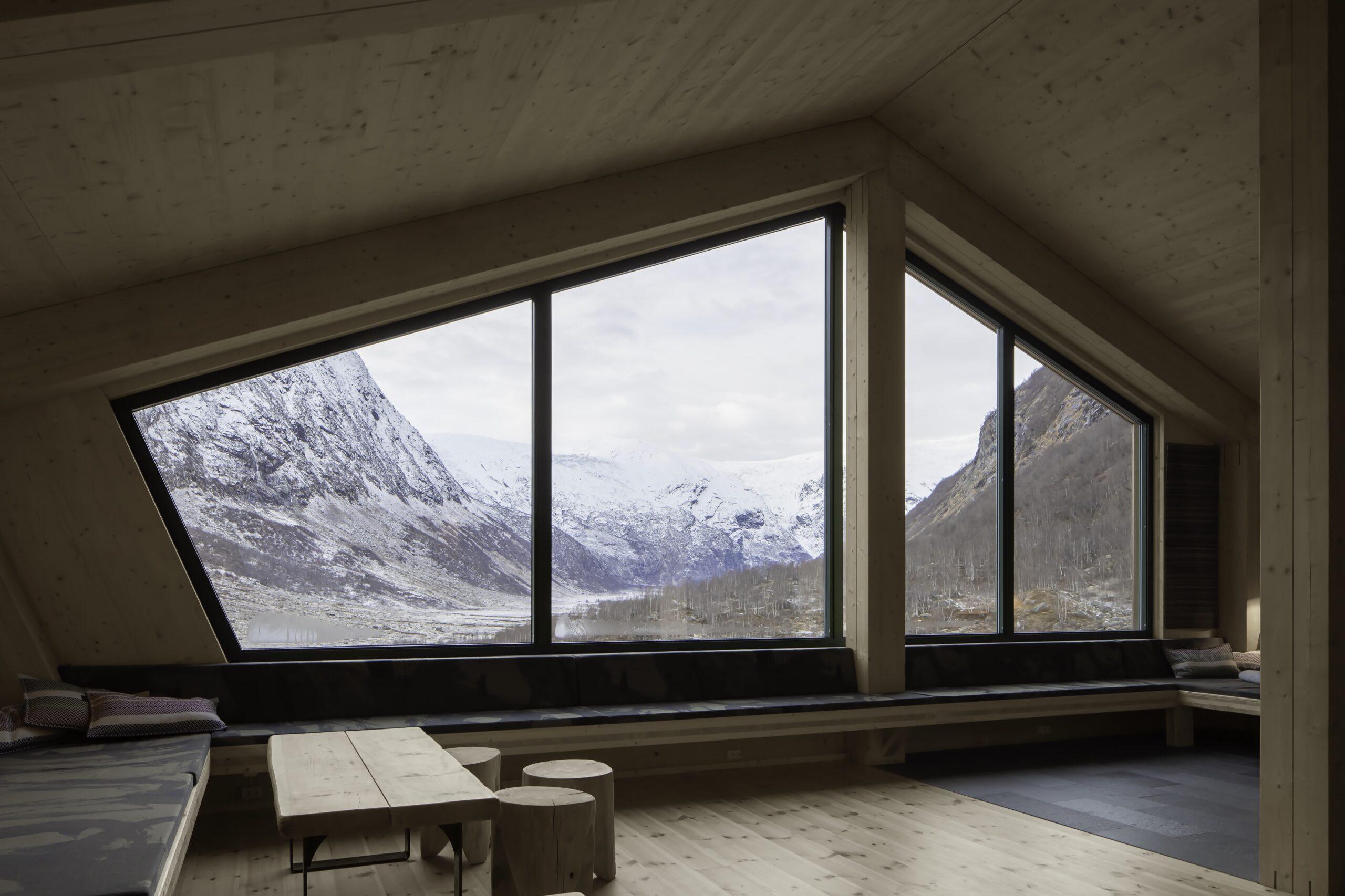Snohetta tourist cabin Norway
