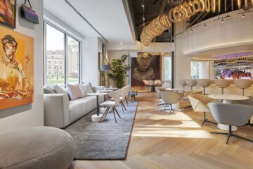 Lounge at Hotel Zena