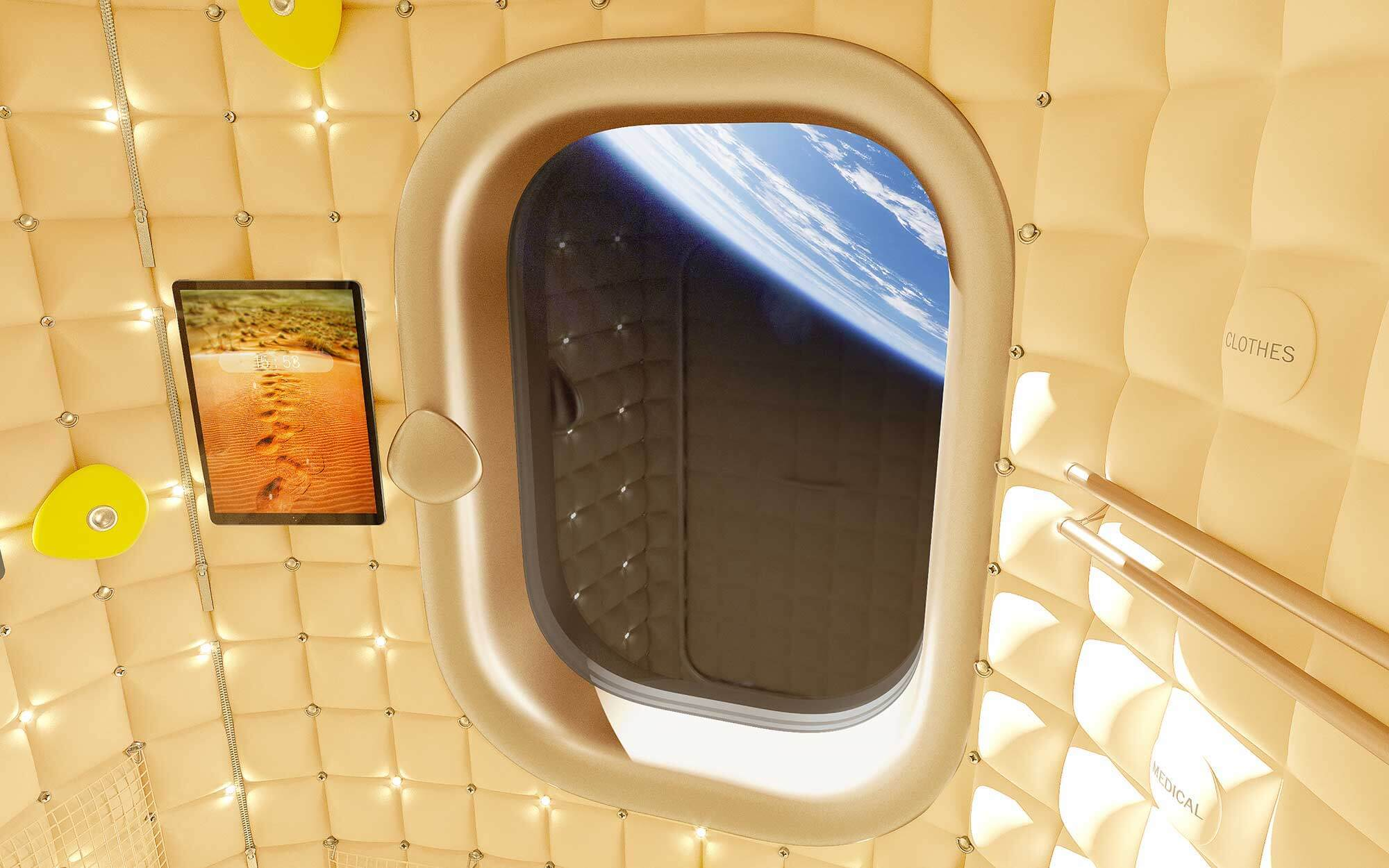 Axiom Space Station Philippe Starck