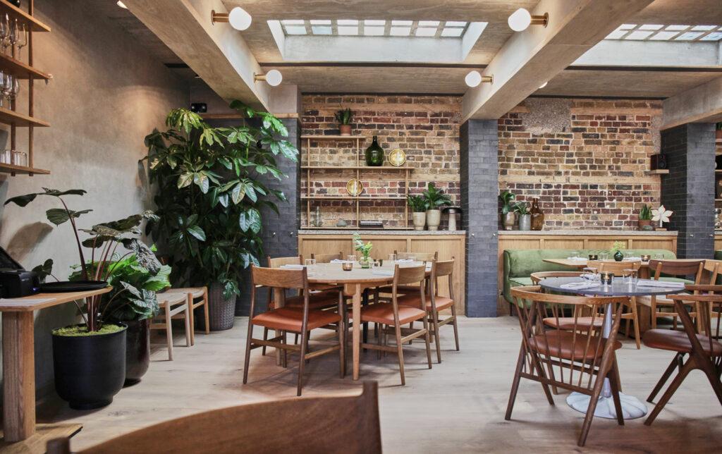 Eldr restaurant at Pantechnicon
