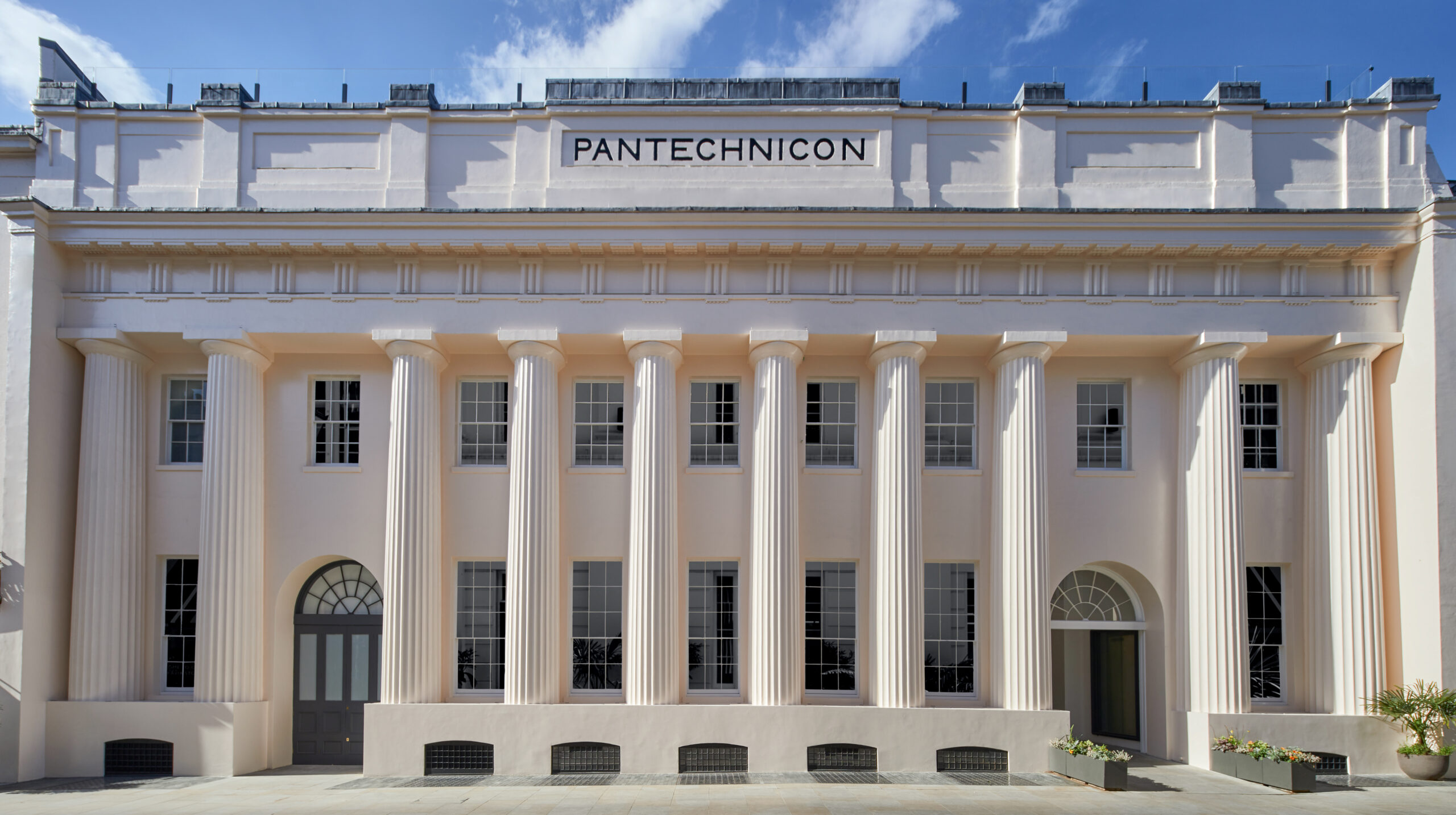 Pantechnicon concept store exterior
