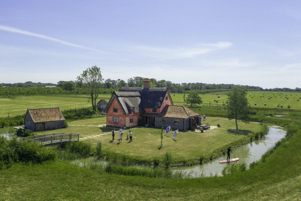 Moat Cottage at Chapel Barn Estate