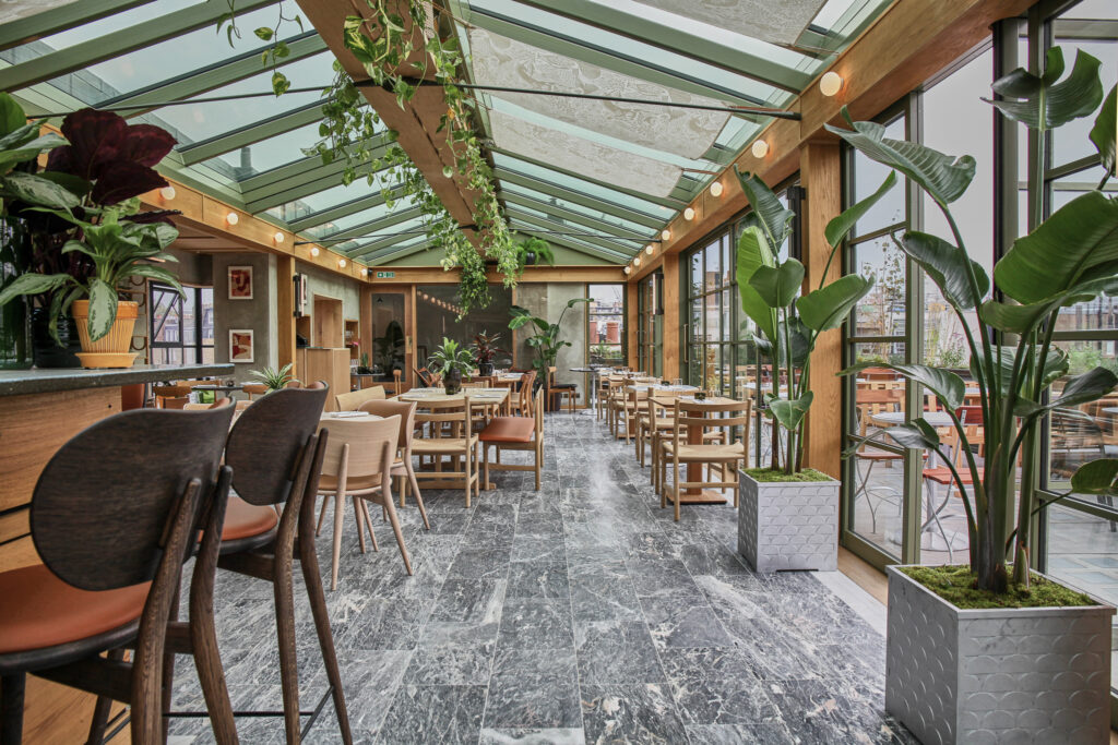 The Roof Garden at Pantechnicon