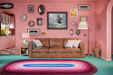 Home Advisor if Wes Anderson Designed The Simpsons Living Room