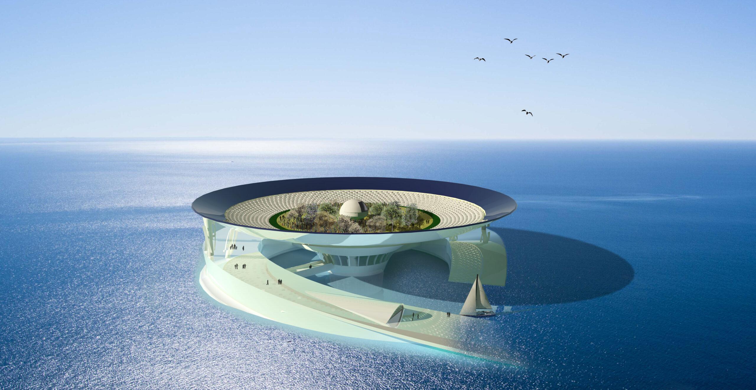 SEA STEM, Mathieu Collos Architecture