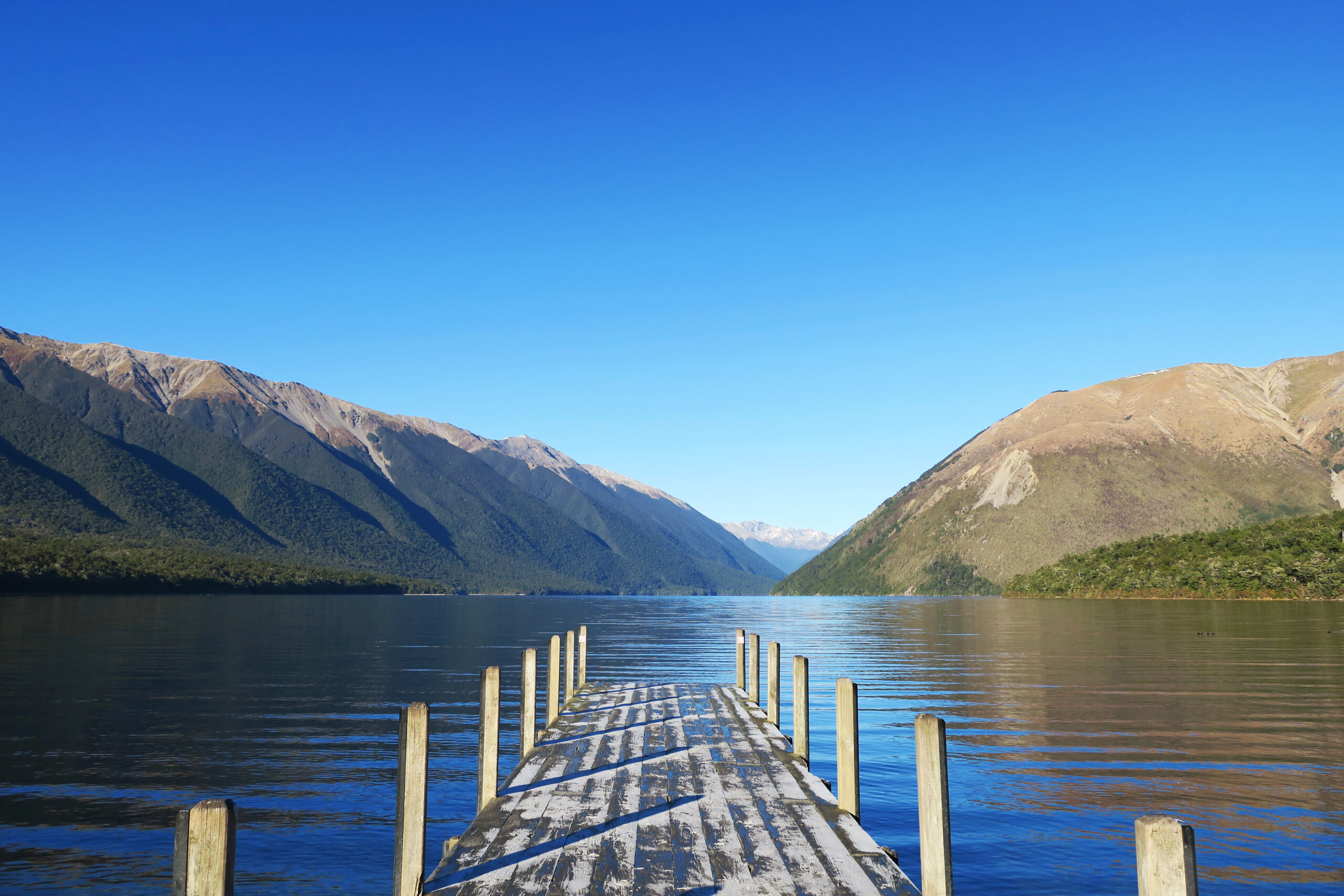 Nelson Lakes National Park, Lake Rotoiti, New Zealand