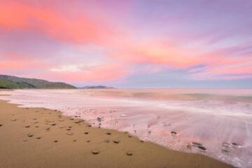Rarangi Beach, Blenheim, New Zealand
