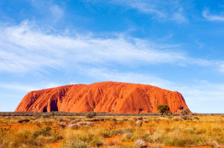 Uluru (Ayer's Rock) in Uluru-Kata Tjuta National Park