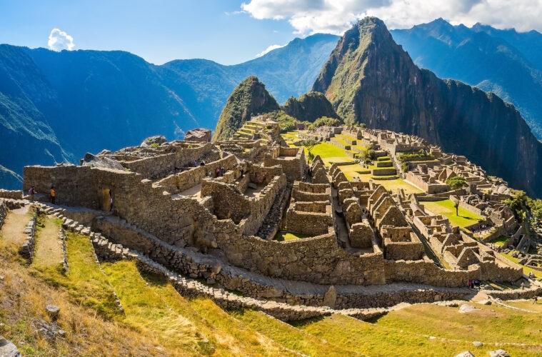 Panorama of Machu Picchu, Peru,South America.