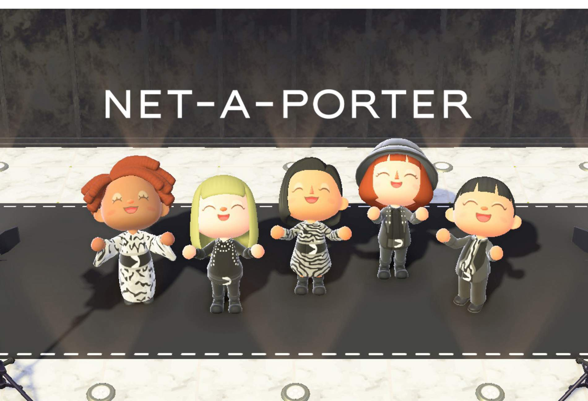 Animal Crossing Net-A-Porter
