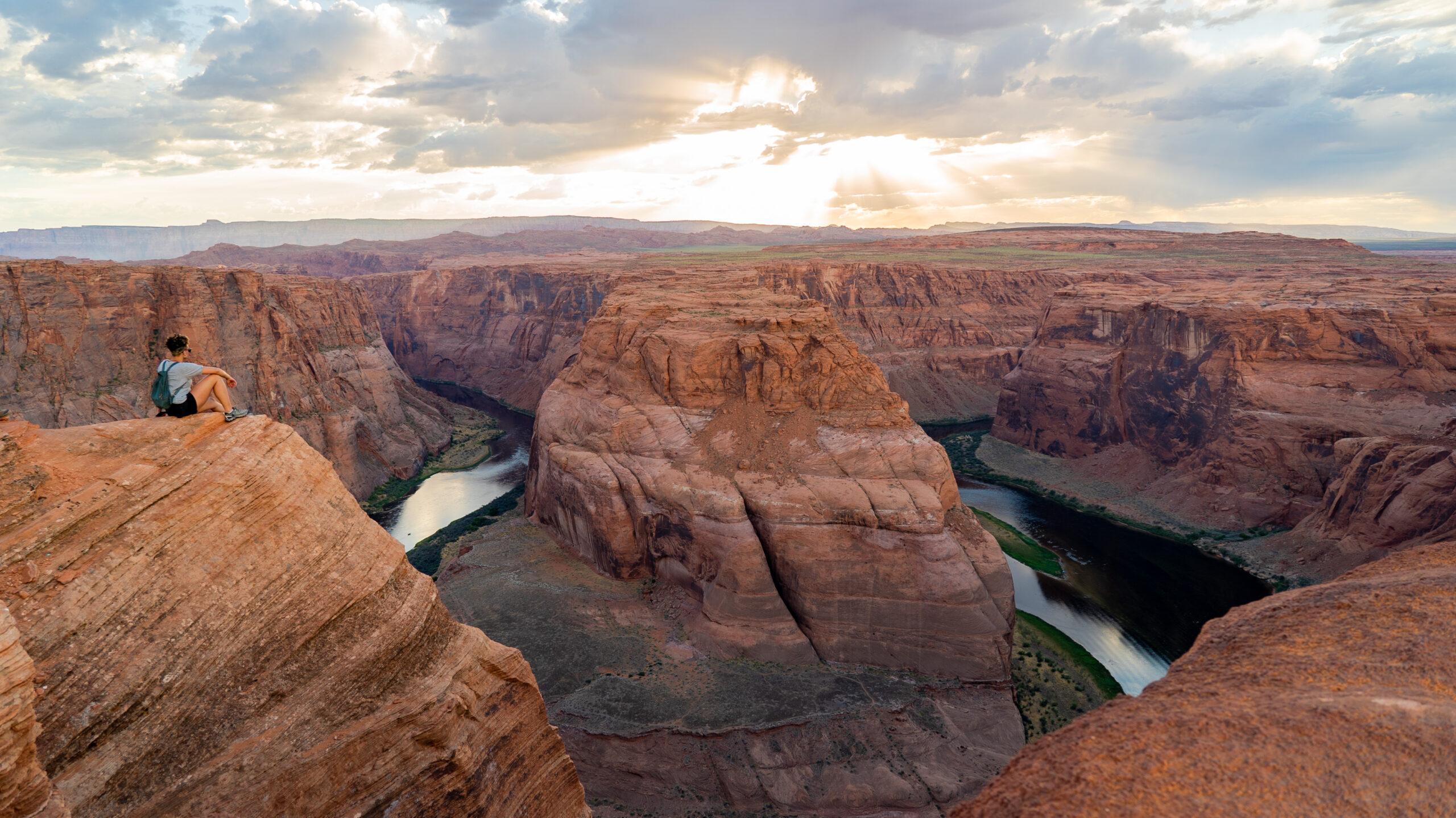 Horseshoe Bend Utah Under Canvas