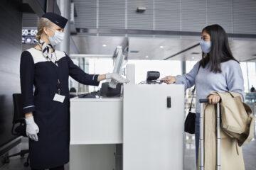 Finnair check-in
