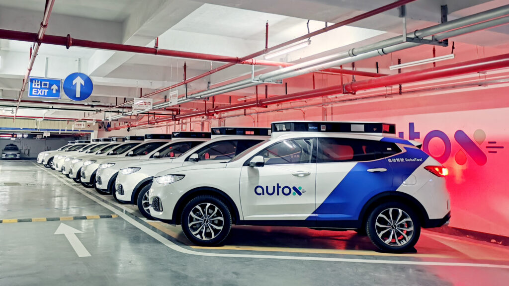The AutoX fleet