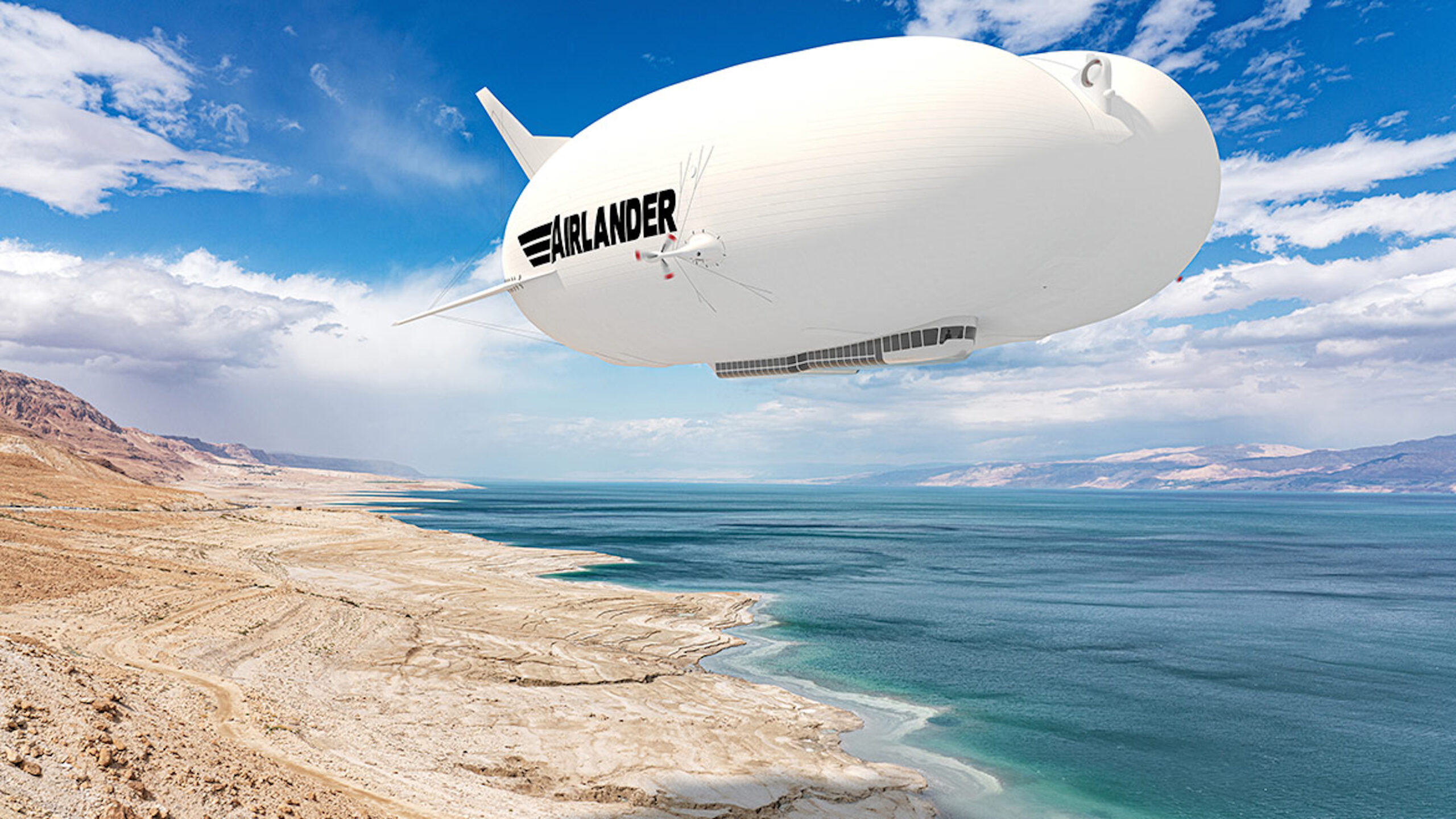 Airlander in the sky