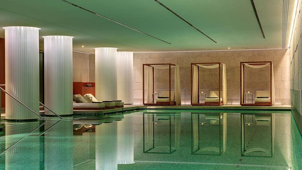 Pool at Bvlgari London