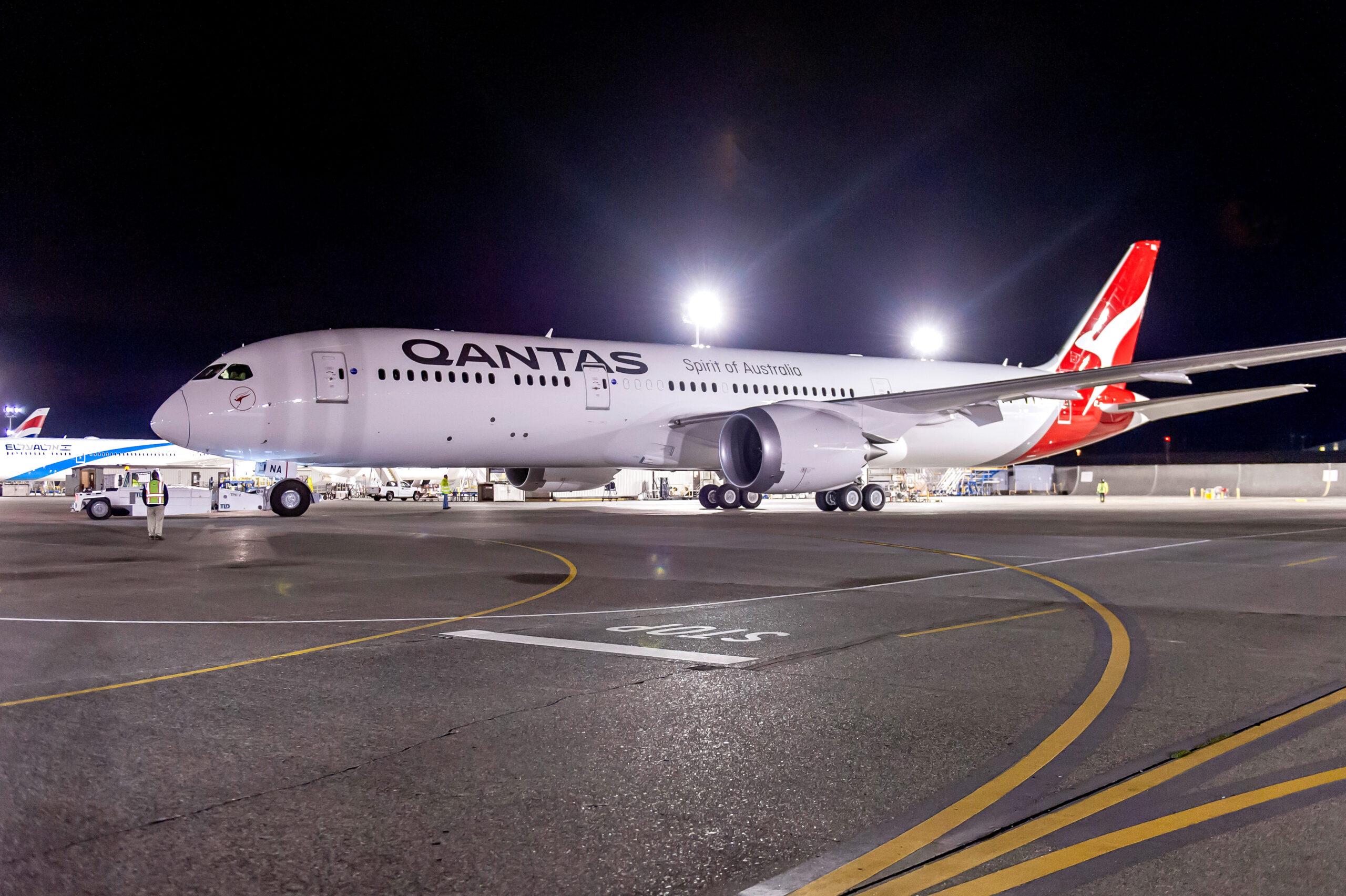 Qantas B787 Dreamliner