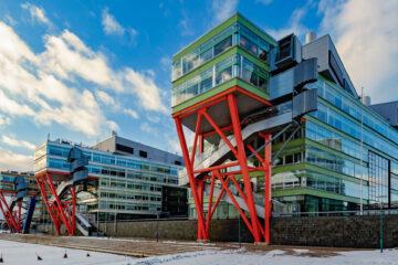 Modern architecture in Helsinki, Finland