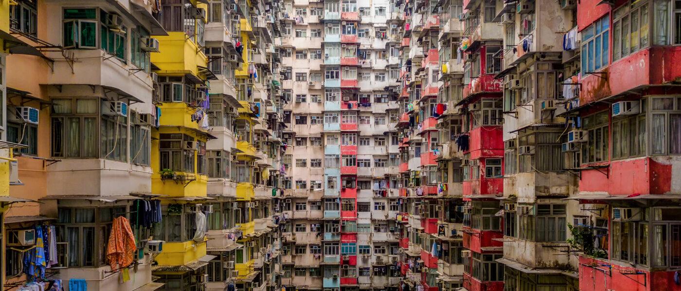 Yick Fat Building, Quarry Bay, Hong Kong