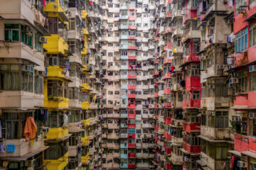 Yick Fat Building, Quarry Bay, Hong Kong