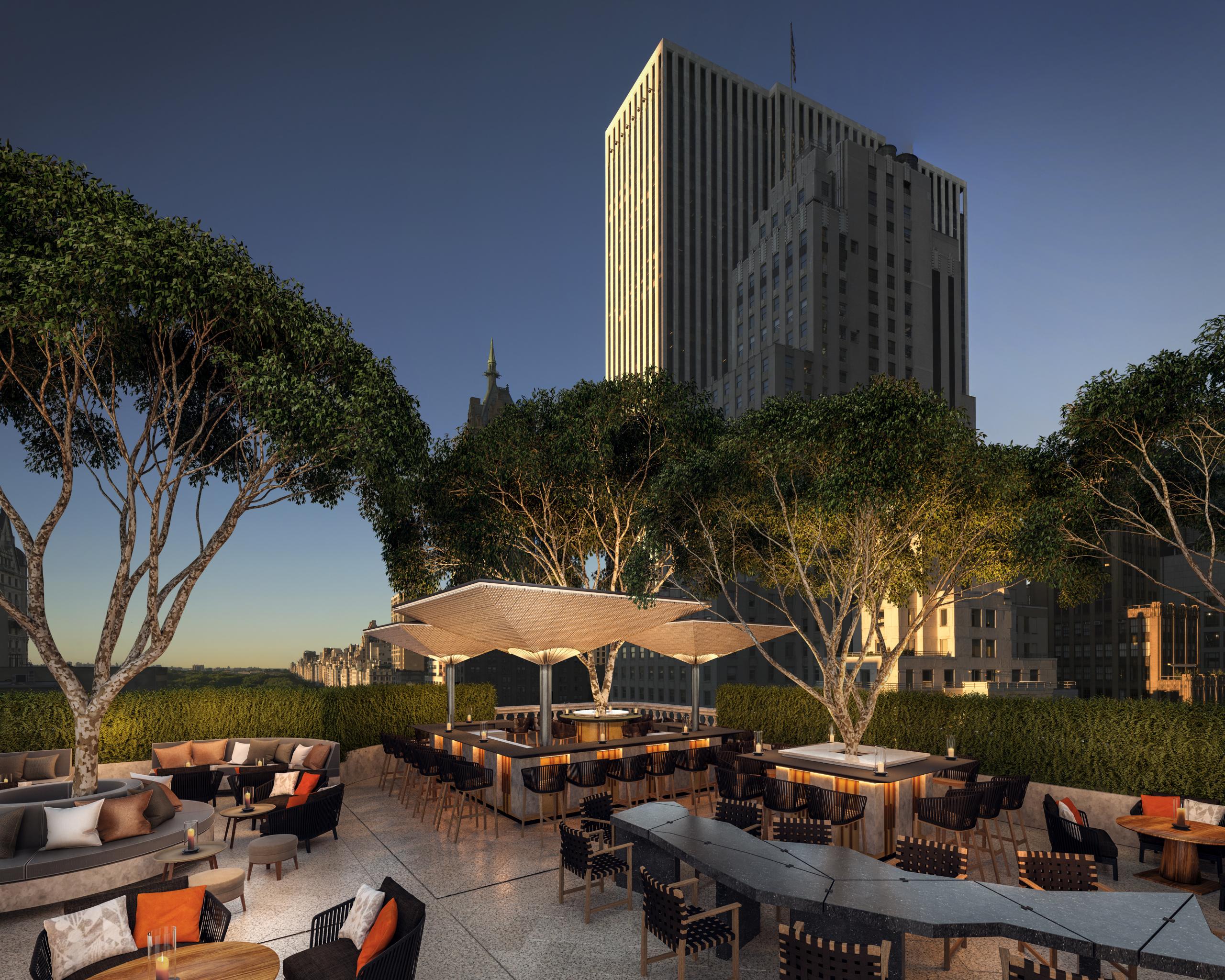 Aman New York - Garden Terrace