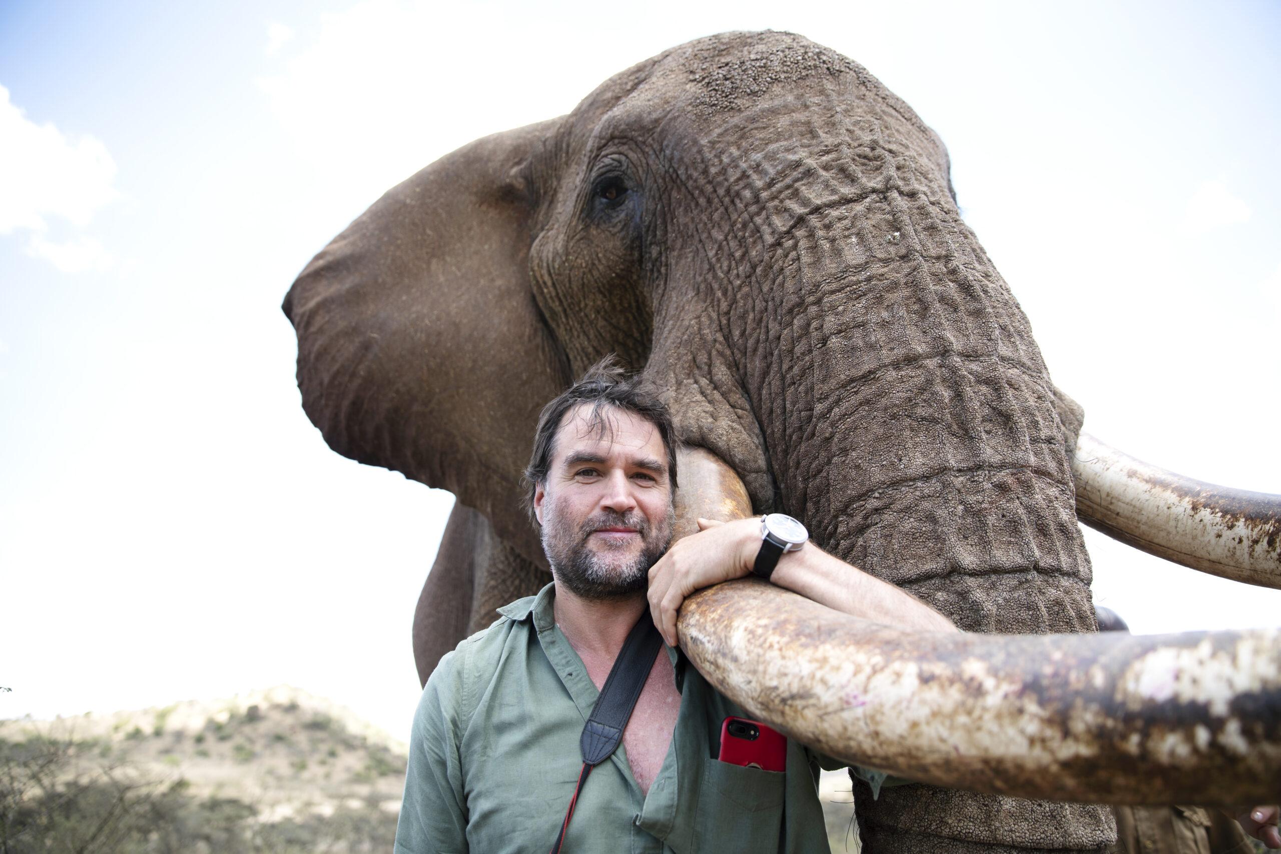 Henry Cookson in Kenya