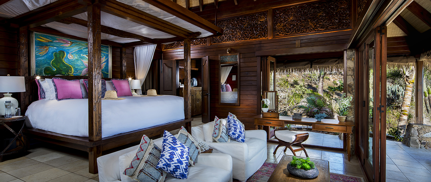 Richard Branson private island Necker Island