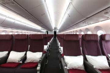 Qantas Dreamliner seats