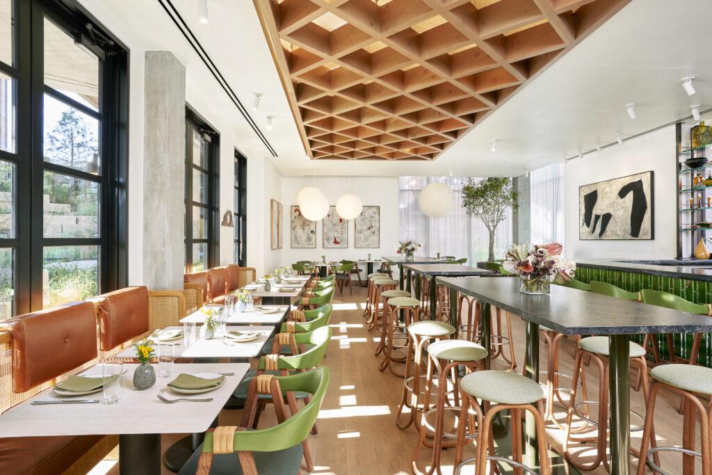 SHOML - Dining Interior Facing Artwork - by Nick Simonite